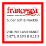 Francesca Lashes - Volume Range